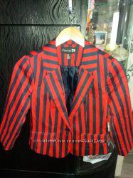 Пиджак подростковый полоска