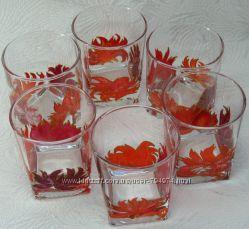 Набор стаканов Стихия огня