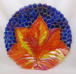 Блюдо-тарелка Осень 243