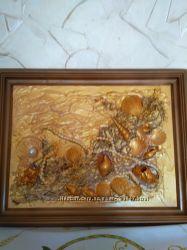 Картина  Золото морей