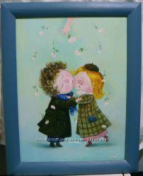 Картина маслом Любовь