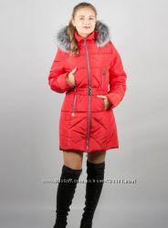 Женская зимняя куртка с мехом  недорого