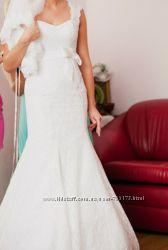 Весільне платтячко. Суперове. ціну знизила.