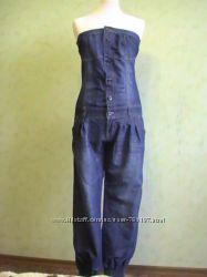 Комбез джинсовый очень красивыйр. М38, Состояние нового