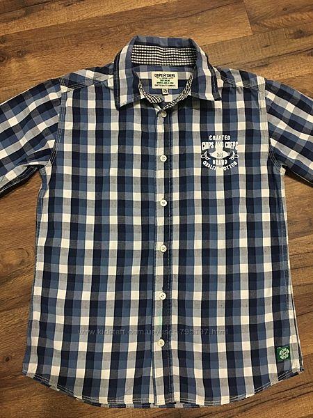 Рубашка C&A для мальчика, хлопок, р.146-152