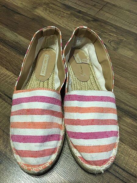 Эспадрильи женские Queen Shoes, р.38, текстиль