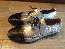 Новые полностью кожаные туфли фирмы Faux 41 и 42 р-ра