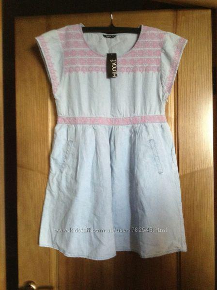 Новое платье с вышивкой ТМ Splash 12 р-ра