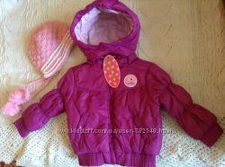 Новая красивая куртка ТМ Juniors на 6-9 м-цев