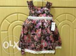 Новое нарядное платье Okaidi Obaibi на 1, 2, 3 и 4 года Франция