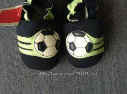 Новые пинетки с футбольным мячом Juniors 19 р-ра