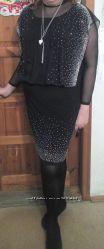 нарядное платье р. 56-58
