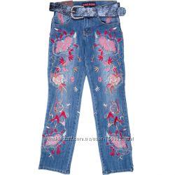 джинсы на девочку.  рост 142. 158см