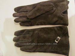 Перчатки натуральная замша размер 7