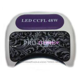 Лампа LEDCCFL Powerful козырек с узором 48 Вт