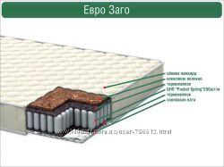 Детский ортопедический матрас Евро Заго italflex 12см и 16 см