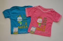 Детские футболочки с прикольными надписями