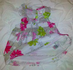 Милейшее цветочное платьице Next от 3 мес. до 1 года как новенькое