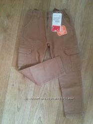 Новые штаны скинни 5-6 лет
