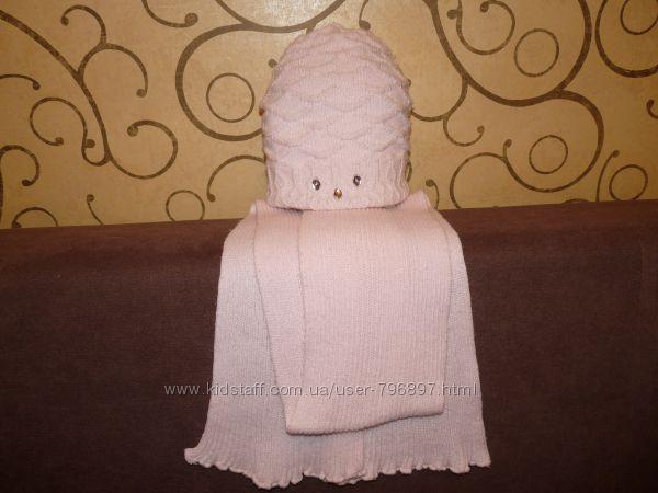 Польская фирменная шапочка и шарфик. Состояние отличное.