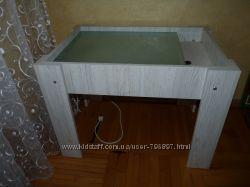 Столик для рисования песком с подсветкой, Новый