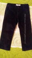 Фирменные вельветовые брюки на мальчика