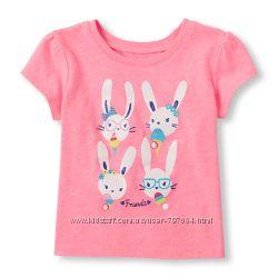 Новые футболки Childrens Place, 12-18, 18-24. Можно двойне