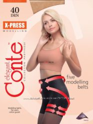 X-press, Style, Control, Active корректирующие утягивающие колготки Conte