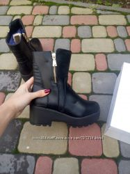 Клевые зимние ботинки, две модельки на шнурках и на замке