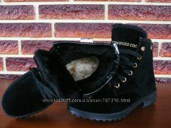 Зимние теплые ботинки 3 классные модельки