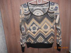 легкий качественный свитер