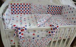 Постелька в детскую кроватку. Шикарнейшее качество. Польша. Много расцветок.