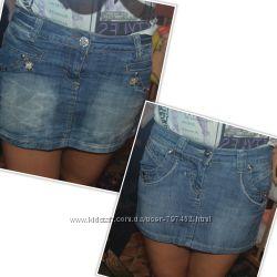 Джинсовые юбки. Большой выбор