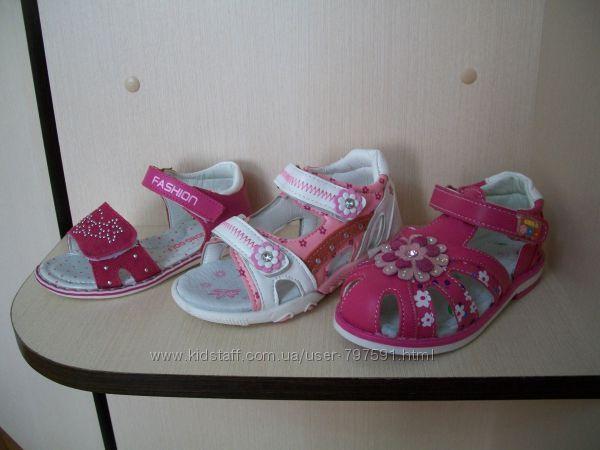 Босоножки для девочки разные модели