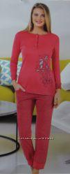 Женская пижама. Интерлок байка