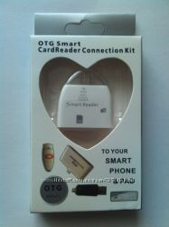 OTG CardReader SDcardmicroSD card for Android phone Tablet
