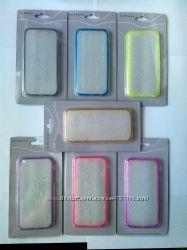 Прозрачный цветной чехол для Iphone 66s 6plus