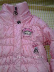 Курточка демисезонная девочке размер 12 мес.
