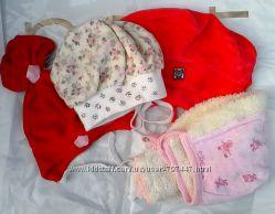 Продам наши шапки недорого на девочку  от 6 мес. до 3 лет.
