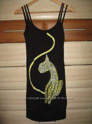 Модне плаття з кішкою, розмір 36