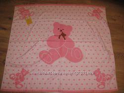 Новое с Биркой качественное нежное полотенце с мишкой для принцессы