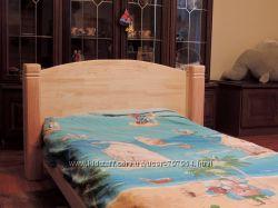 Кровать одноместная ліжко односпальне из дерева