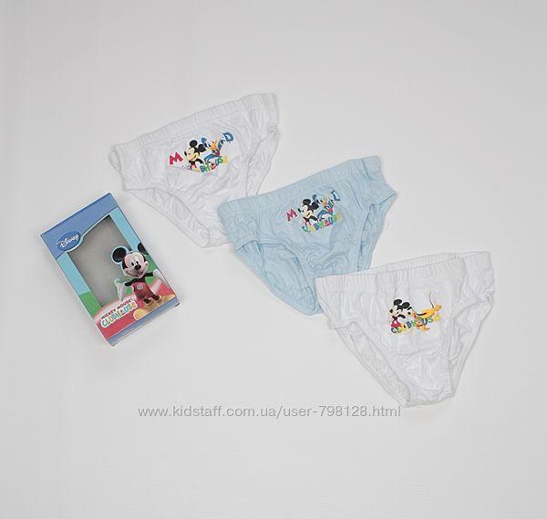 Disney детские трусики Дисней Микки Маус хлопок 8-9лет комплект мальчику