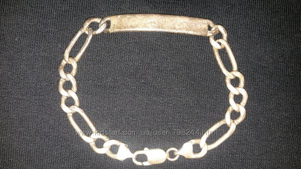 серебряный браслет проба925 тяжеленький