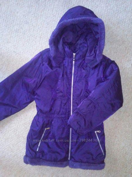 Зимняя теплая куртка на 9-14 лет
