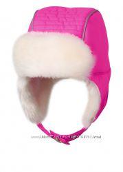 Шапка Chicco, р. 5-6 лет для девочки. Новая зимняя шапочка, шапка-ушанка