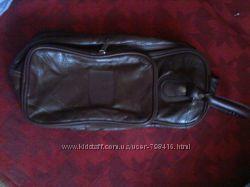 Кожаная сумка для обуви либо по усмотрению