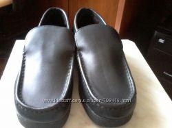 макасины туфли кожанные можно на широкую ножку 42