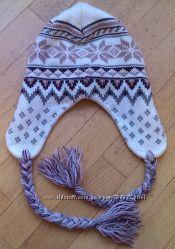 Зимняя шапка для мамы или дочки