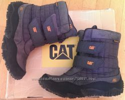 Брендовые ботинки САТERPILLAR, 37 размер. Оригинал. Утеплитель Thinsulate.